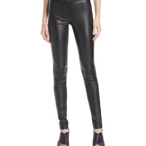 Theory Adbelle 100% Genuine Leather Pants
